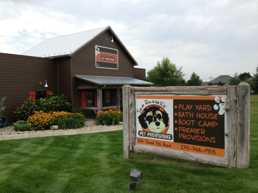 Sam Russell's Pet Provisions a premier pet supply store elizabethtown