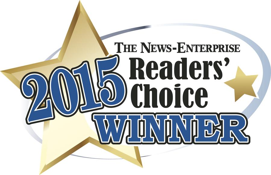 The News-Enterprise 2015 Readers' Choice Winner - Sam